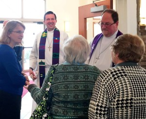 Mission Sunday with partner congregation St  Peter LC and Pr. Steve Gewecke (1st VP of the NJ District, LCMS)